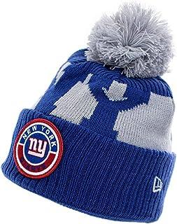 New Era NFL20 On Field Sport Knitted Beanie ~ New York Giants