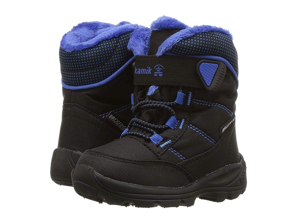 Kamik Kids Stance (Toddler) (Black/Blue) Boys Shoes