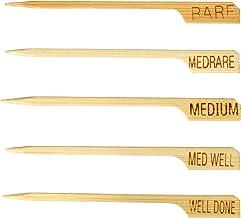 TableCraft H1028 Steak Marker, 3.5-Inch, Bamboo