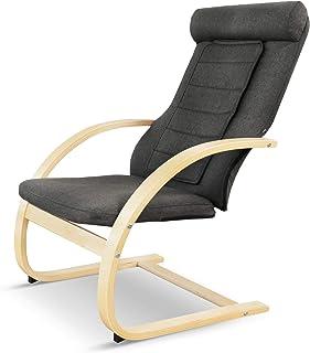 Medisana RC 410 Relax-Fauteuil Met Shiatsu-Massagefunctie, Massagestoel Met Warmtefunctie, Puntmassage, Schommelfauteuil, ...