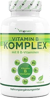 Vitamin B Komplex 500 Tabletten – Alle 8 B-Vitamine in 1 Tablette – Vitamin..