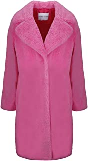 STAND Luxury Fashion Womens 606648800CAMILLE2270 Pink Coat | Fall Winter 19