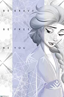Trends International Disney Frozen 2 - Elsa Wall Poster, 22.375