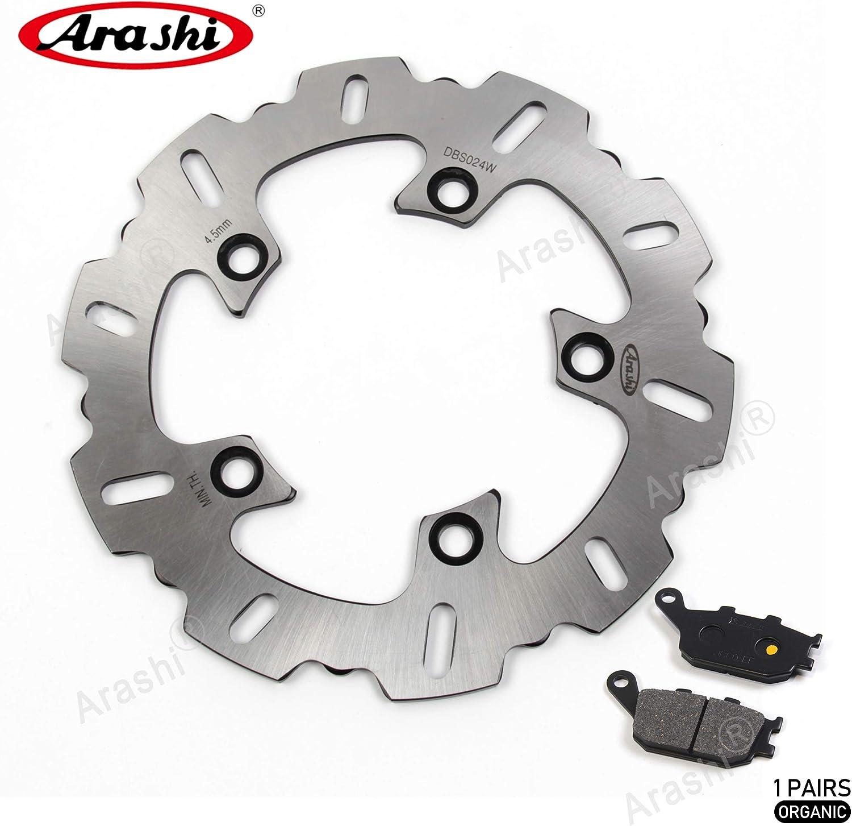 Arashi Rear Brake Disc Rotor and Pads Kit Yamaha 2003 YZF R6 for Max shopping 40% OFF