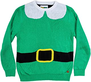 Youth Elf Ugly Christmas Sweater - Cute Christmas Sweater for Child