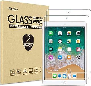 "ProCase iPad 9.7(旧型) 専用 [2枚セット] 液晶保護フィルム 9H硬度 強化ガラス スクリーンプロテクター 対応端末:iPad 9.7"" 2018 2017 / iPad Pro 9.7 / iPad Air 2 / iPa..."