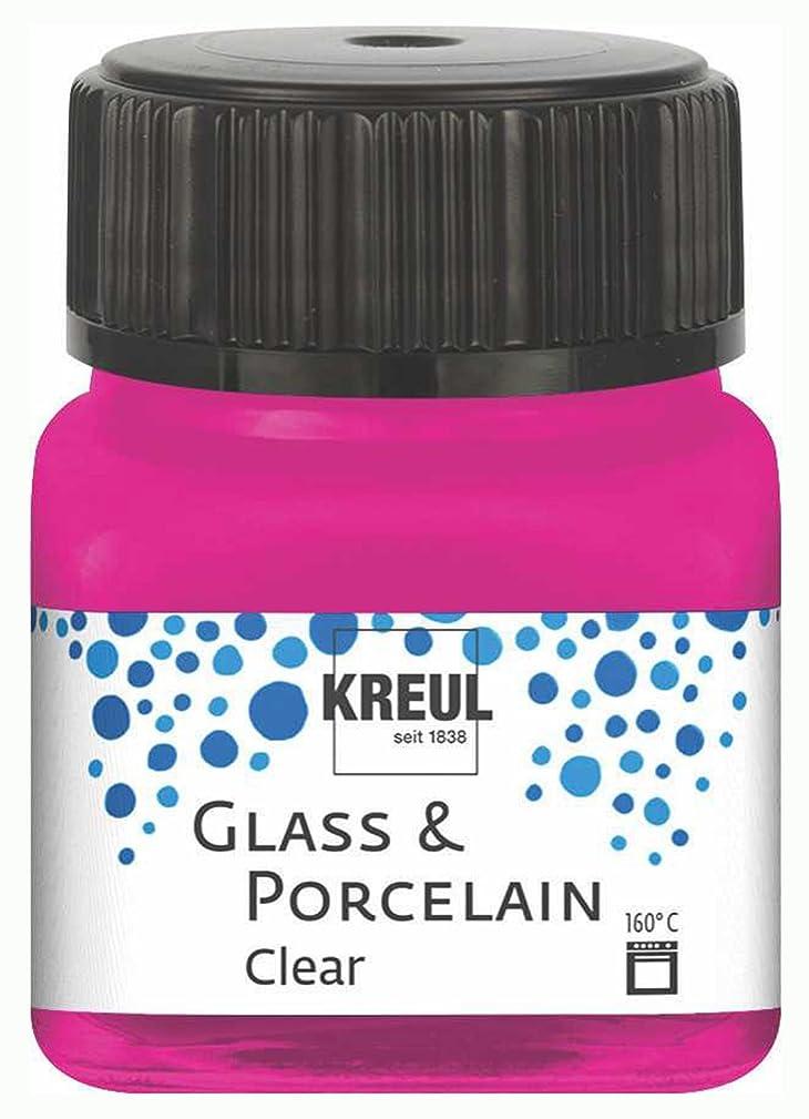 KREUL 16210?Glass & Porcelain Clear/Pink