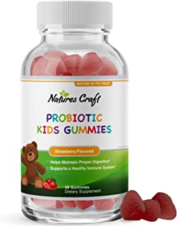 Immune Booster Kids Probiotic Gummies - Bacillus Subtilis Probiotic for Kids Stomach Relief Body Cleanse Immune Boost and ...