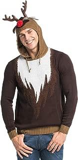 reindeer sweater hoodie