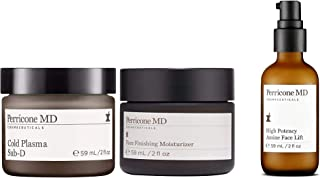 Perricone MD Face High Potency Amine Face Lift, Finishing Moisturizer & Cold Plasma Sub-D Beauty Combo, 6 Ounce