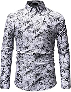Shirt Men Tops Men Business Casual Lapel Buttons Men Shirts Autumn New Temperament Long Sleeve Slim Classic Wedding Party ...