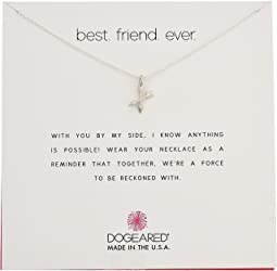 Dogeared - Best Friend Ever, Crossing Arrow Necklace
