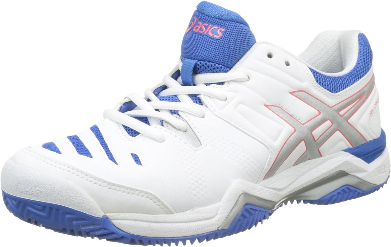 ASICS Damen Gel-Challenger 11 Clay Tennisschuhe Scuro Blau Rosa    11eafa