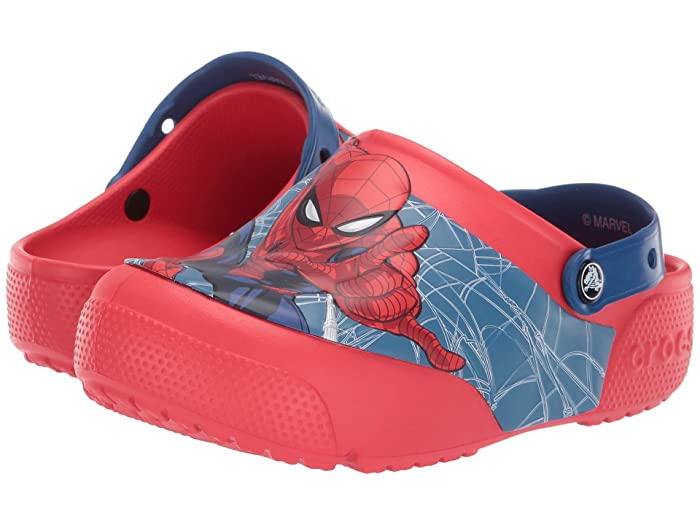 3d755bc09 Crocs Kids CrocsFunLab Spiderman Lights Clog (Toddler/Little Kid) at ...