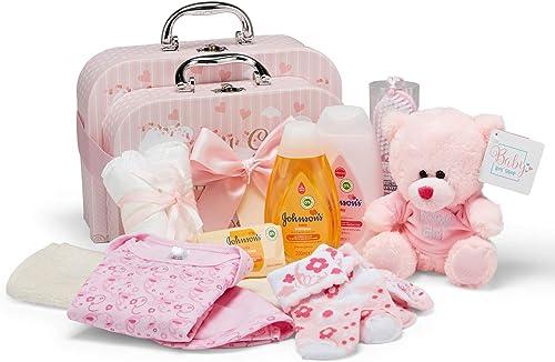 Coffret cadeau bébé I Cadeau naissance & baptême I Idée cadeau originale pour les nouveau-nés - 2 coffrets souvenirs ...