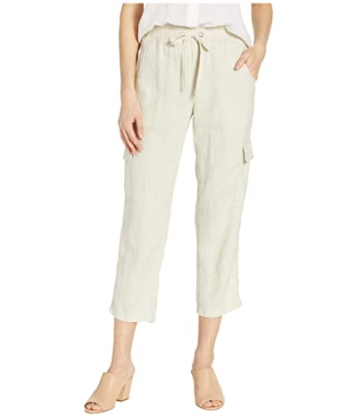 Sanctuary Discover Pull-On Linen Cargo Pants (Washed Pebble) Women