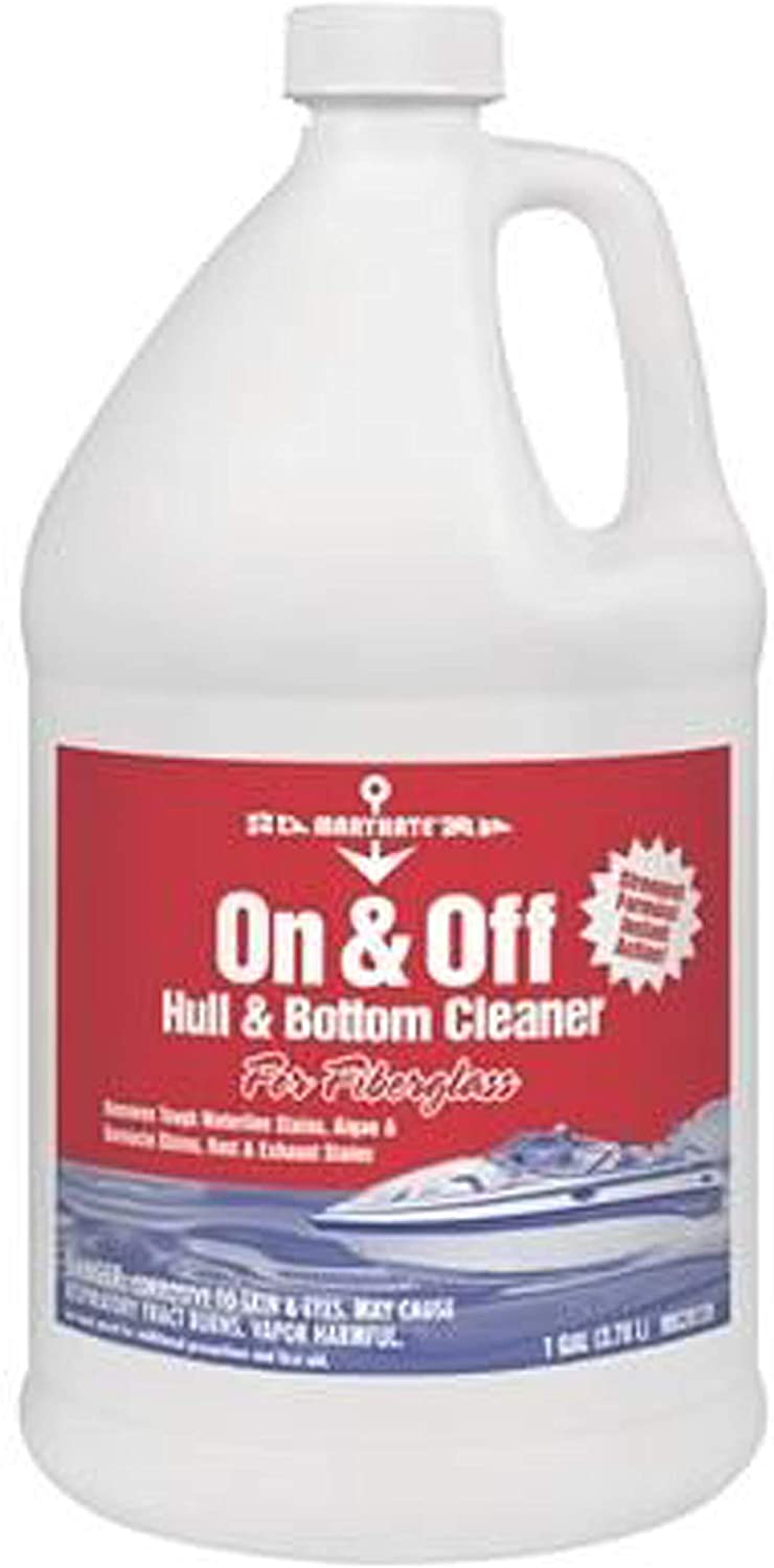 MaryKate On and Off - Hull and Bottom 1 Gallon Cleaner, 128 oz