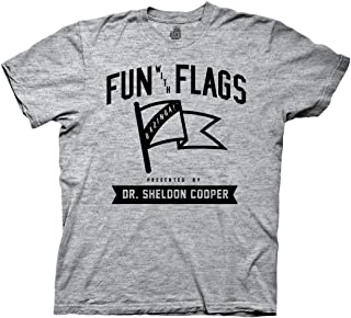 Ripple Junction BBT Fun with Flags Collegiate Adult T-Shirt