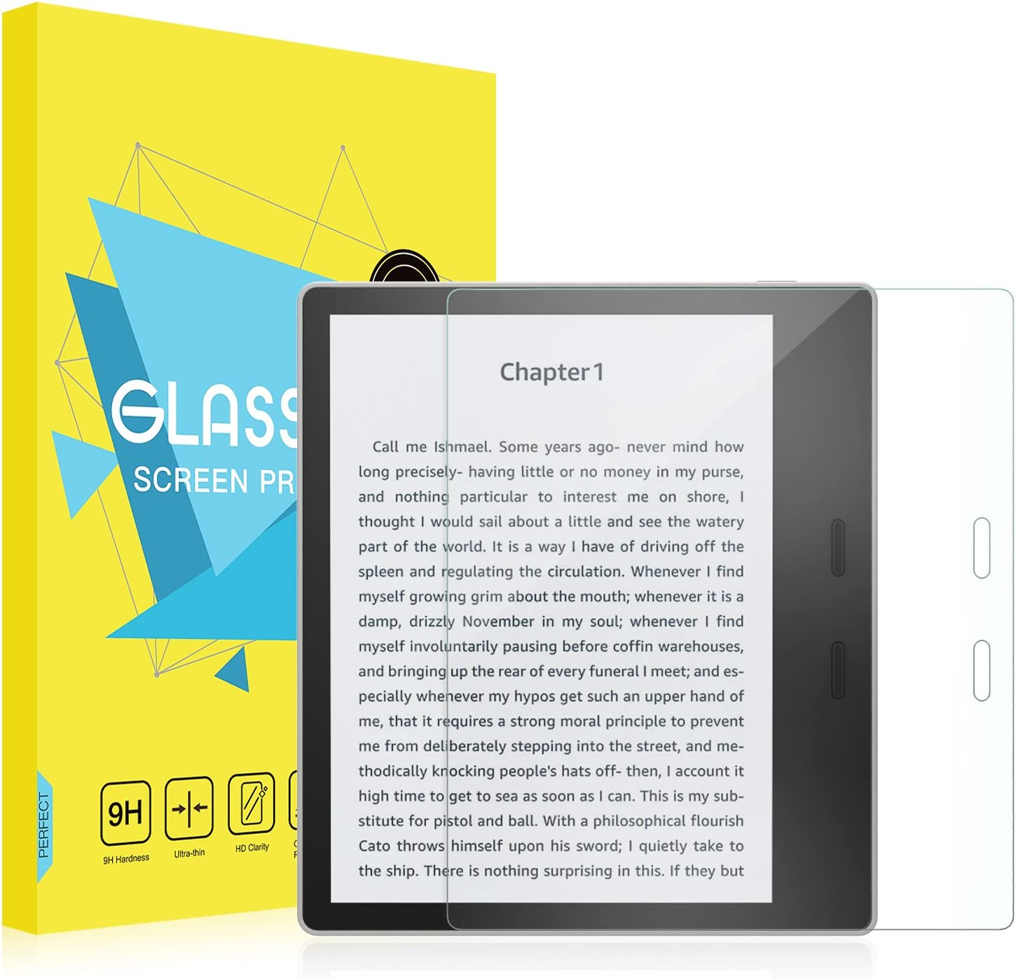 MoKo All-New Kindle Oasis Screen Protector (9th and 10th Gen - 2