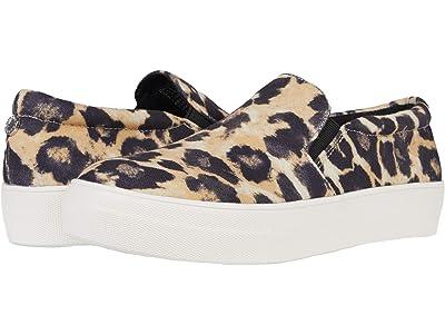 Steve Madden Gills-C Sneaker (Leopard Canvas) Women