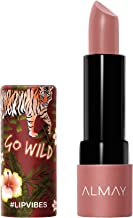 Almay Lip Vibes, Go Wild, matte lipstick,1 Count, 0.14 Ounce
