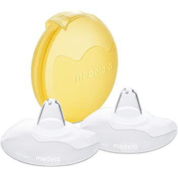 Medela Contact Nipple Shields with Case Medium, 20mm nipple shield