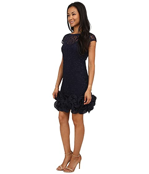 Jessica Hem Dress Short Tiered with at Sleeve Simpson Ruffle qUCw7q