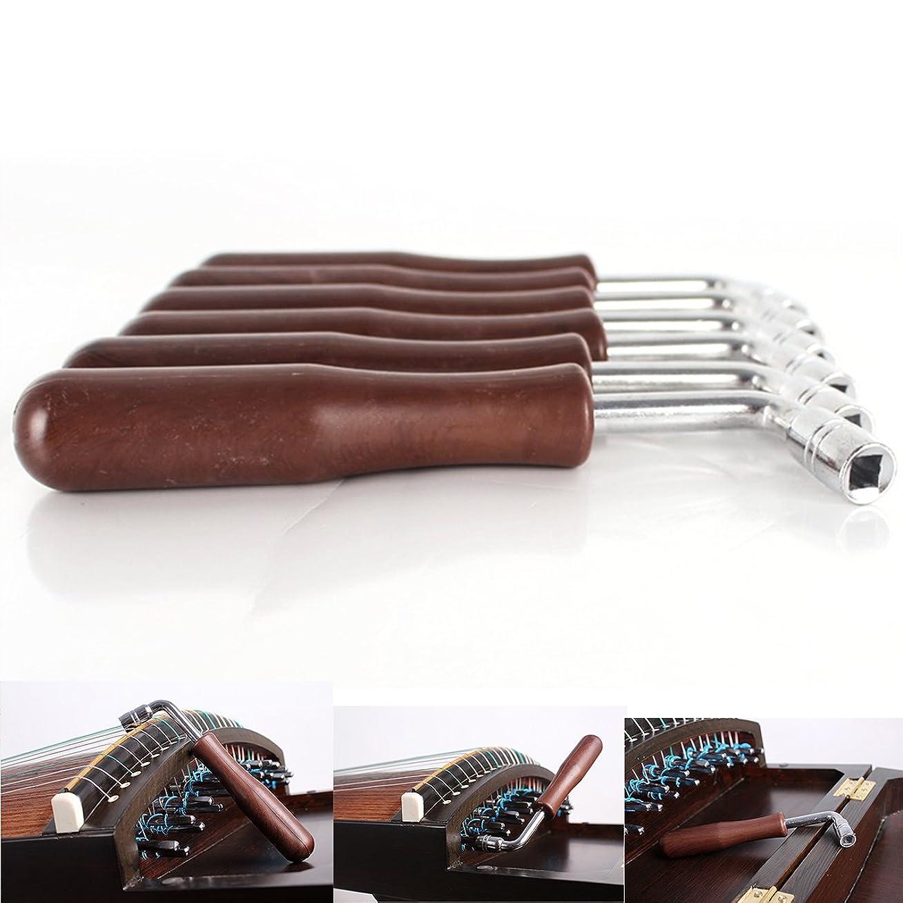 バンケットオートドロップPro-Nicee 調律工具 箏、ピアノ用ハンマーレンチ チューニングキット 筝調律ツール 古筝チューナー 四角形