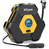 Xflyee Portable Air Compressor Pump (Yellow)