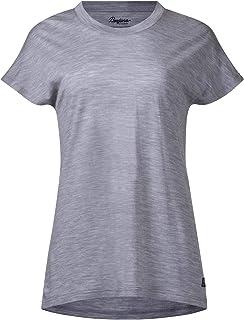 Bergans Fjellrapp T-Shirt Homme Solid Charcoal//Black Striped 2019 sous-v/êtement