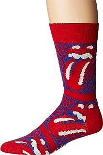 Happy Socks Men's Rolling Stones Stripe Me Up Socks