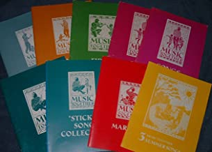 Music Together Collection of 9 Books (Maracas, Sticks, Sticks Song Collection, Drums, Fiddle, Bongos, Bells, Summer Songs, Songbook)