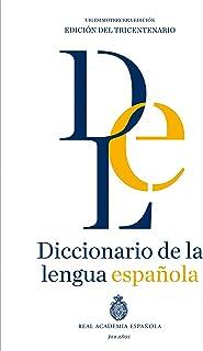 Diccionario de la lengua Española. Vigesimotercera edición