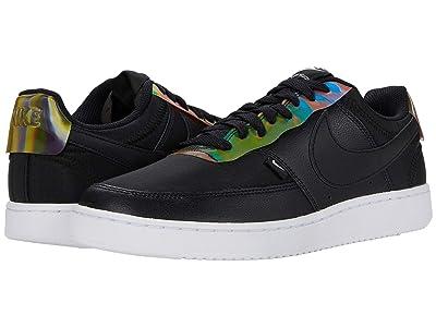 Nike Court Vision Low Premium (Black/Rainbow/White) Men