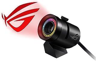 華碩 RGB 徽標投影儀,帶磁支架 (USB) 適用于 Aura Sync 照明產品和軟件,黑色(ROG 聚光)