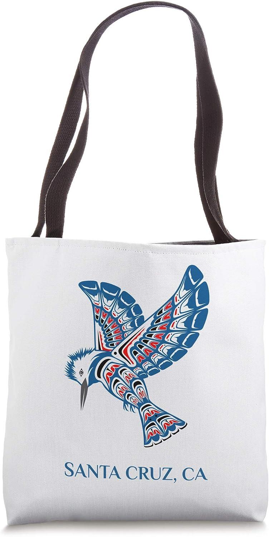 Native American Cruz Santa Kingfisher Bird California Tote Bag