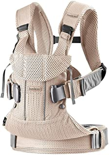 BabyBjorn Ergonomic One Air Cool Mesh Adjustable Baby Carrier (Pearly Pink)