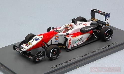¡envío gratis! Spark Model SA123 DALLARA F3 Lance Stroll 2015 N.3 8th 8th 8th Macau GP 1 43 (LIM.300) Compatible con  Seleccione de las marcas más nuevas como