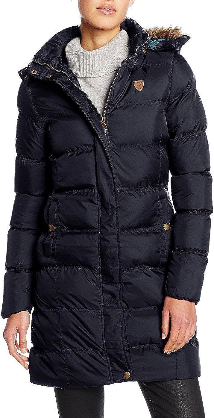 shelikes Girls Padded Coat Showerproof Parka Faux Fur Hooded Winter Jacket