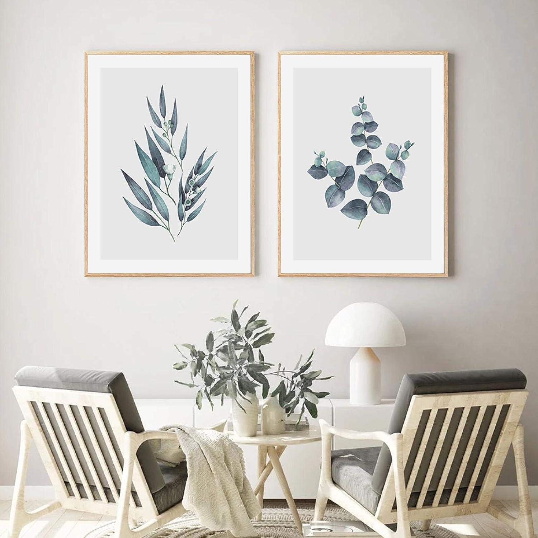 Minimalist Abstract Max 58% OFF Art Ultra-Cheap Deals Print Eucalyptus Poster Nordic Botanical
