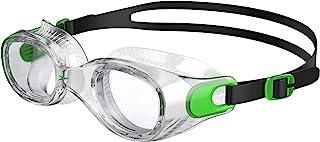 Speedo Futura Classic Swimming Goggles, Unisex, Green/Clear