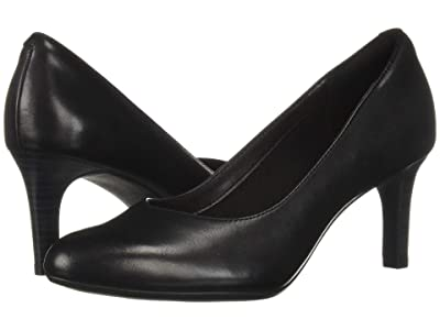 Clarks Dancer Nolin (Black Leather) Women