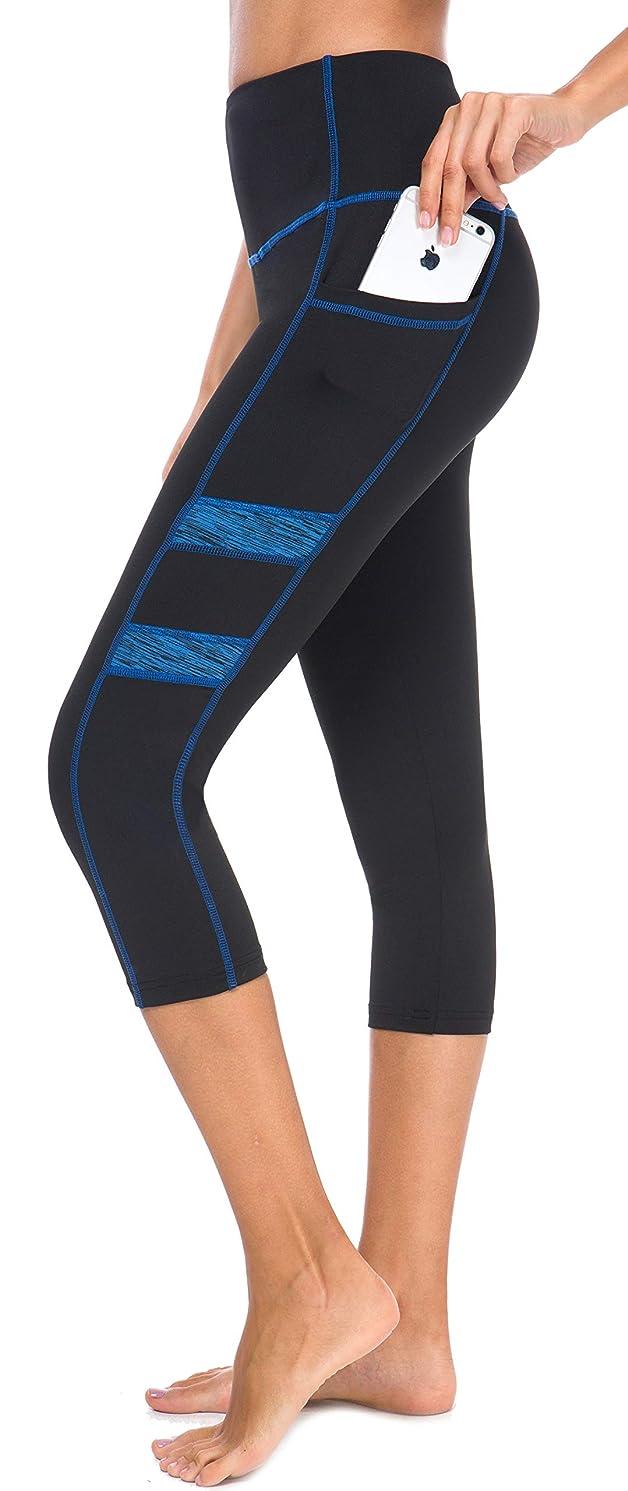 Neonysweets Women's Workout Leggings Phone Pocket Running Yoga Pants