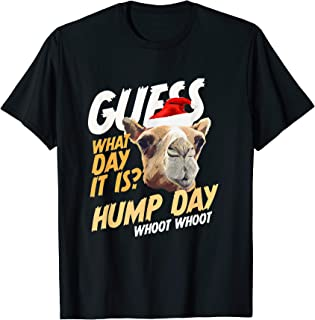 Hump Day Santa Christmas Shirt Guess What Day It Is - Camel! T-Shirt