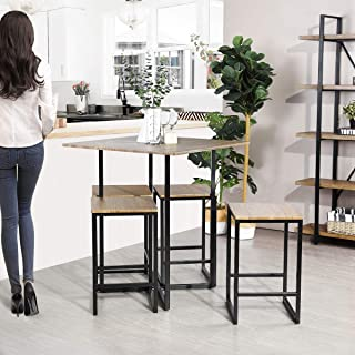 Framodo 5-Piece Kitchen Counter Height Pub Dining Table...