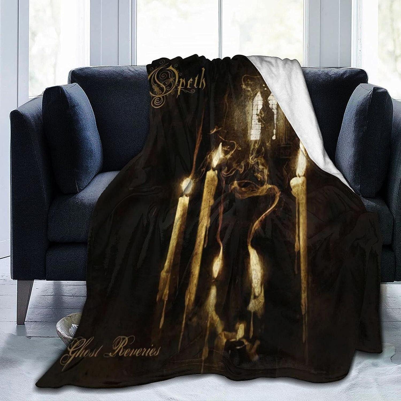 Opeth FleeceBlanket Soft Financial sales Fashionable sale Lightweight ThrowBlanket Warm Fashion