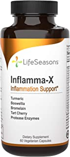 LifeSeasons - Inflamma-X - Anti Inflammation Support for Everyday Aches and Pains - Joint Pain, Bone Strength, and Tissue ...