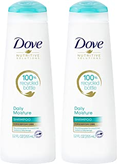 Dove Nutritive Solutions Shampoo Daily Moisture 12 oz Pack of 2