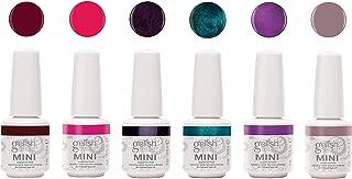 Gelish Mini 6 Color Soak Off Gel Nail Polish Set, Sassy Intergalactic Glam