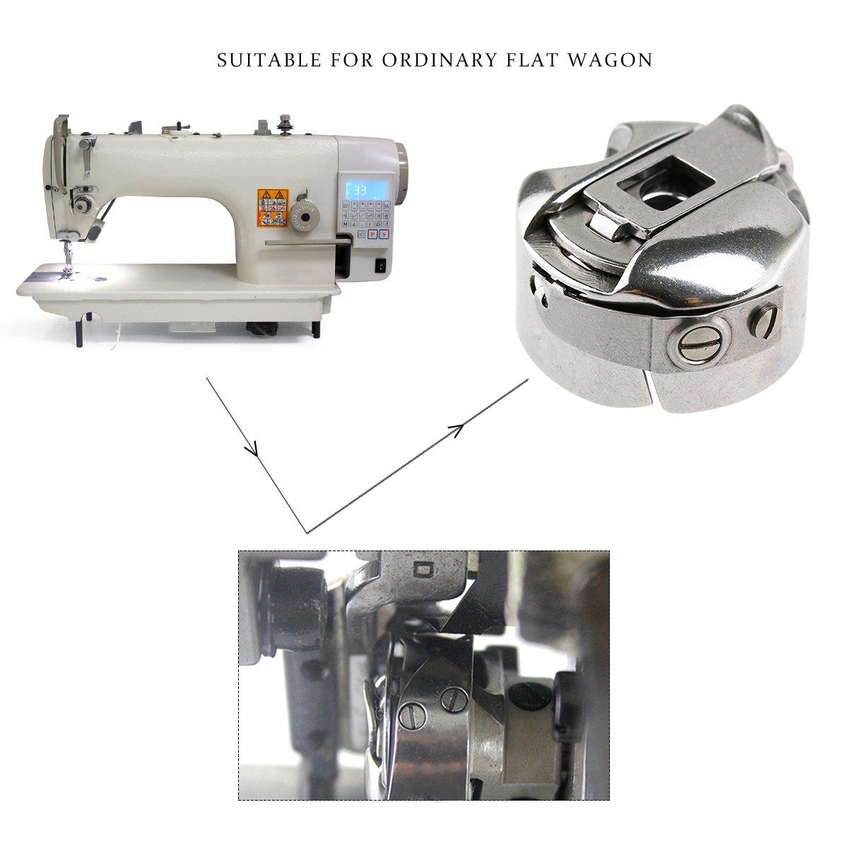 Rosenice - Cápsula industrial para máquina de coser Brother Singer ...